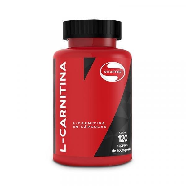 L-Carnitina 120 Caps - Vitafor
