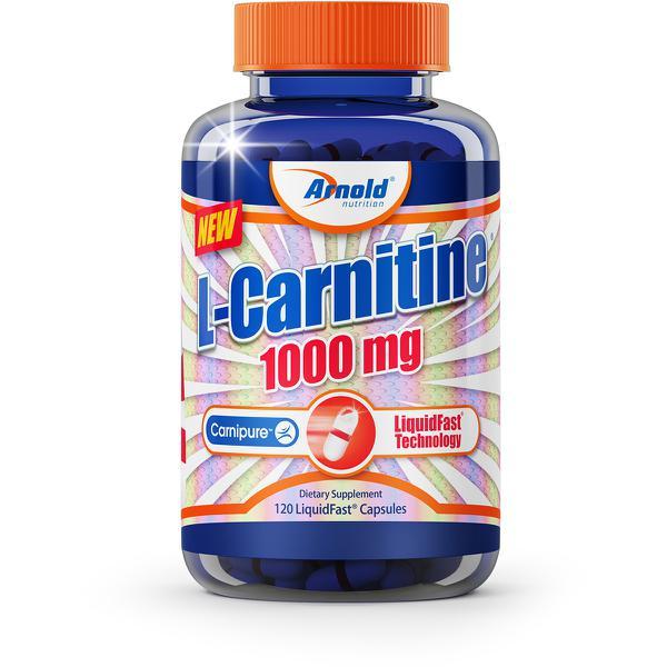 L-Carnitina 1000mg 120 Cápsulas - Arnold Nutrition