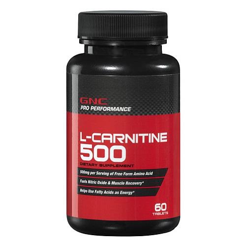 L-Carnitina 500 - 60 Cápsulas - GNC
