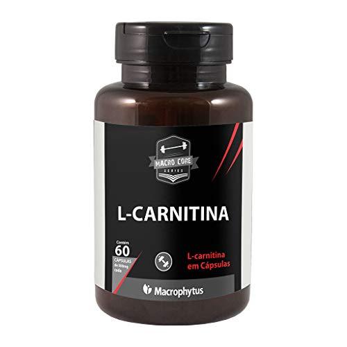L-carnitina 500mg 60 Cápsulas Macrophytus