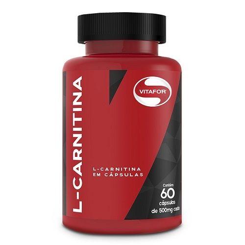 L-carnitina (60 Caps) - Vitafor