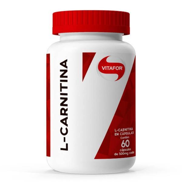 L-Carnitina (60 Caps) Vitafor