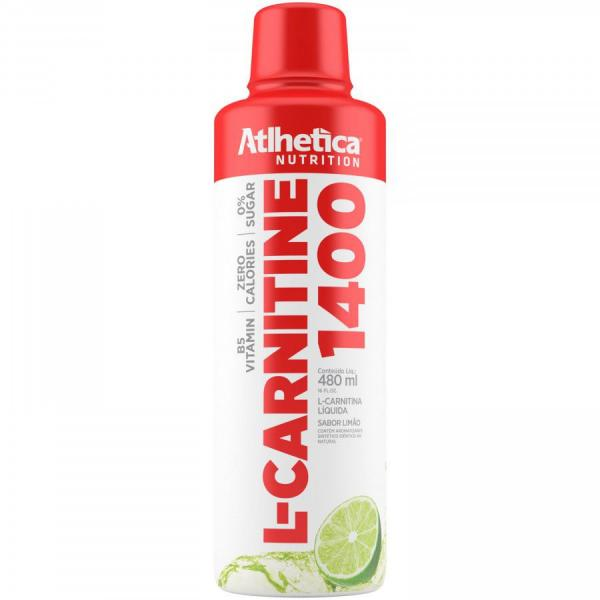 L-Carnitina Atlhetica L-Carnitine 1400 - 480ml - Atlhetica-nutrition
