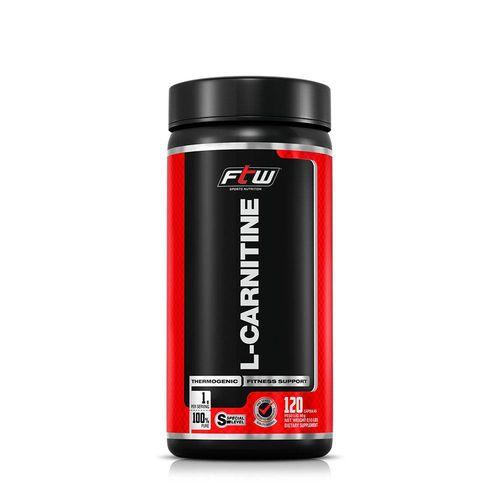 L-carnitina Ftw 500mg - 120 Caps