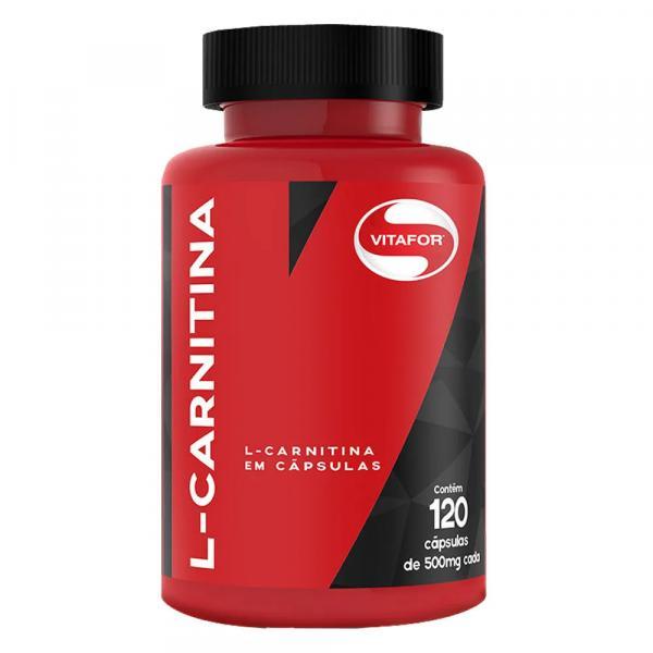 L-Carnitina - Vitafor - 120 Cápsulas de 500mg