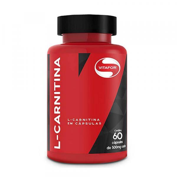 L-Carnitina - Vitafor - 60 Cápsulas de 500mg