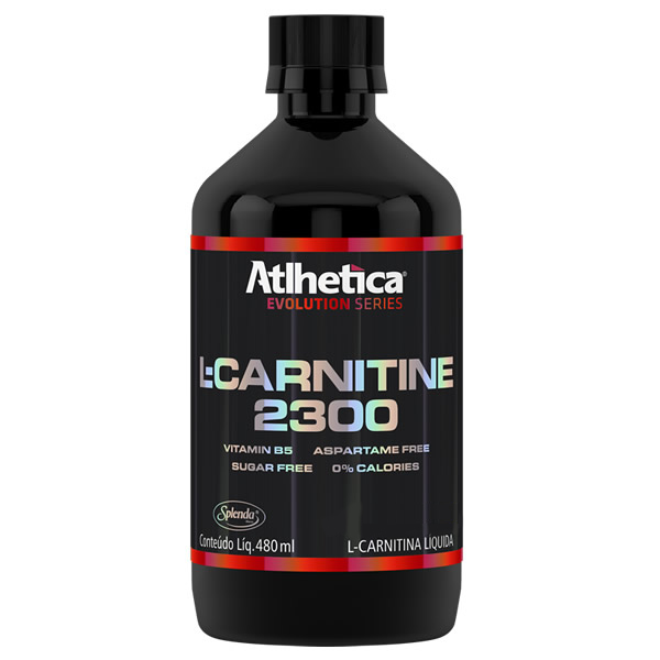 L-Carnitine 2300 480 Ml - Atlhetica - Atlhetica Nutrition