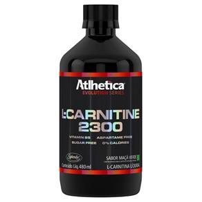 L-Carnitine 2300 480 Ml - Atlhetica Nutrition - Maçã Verde