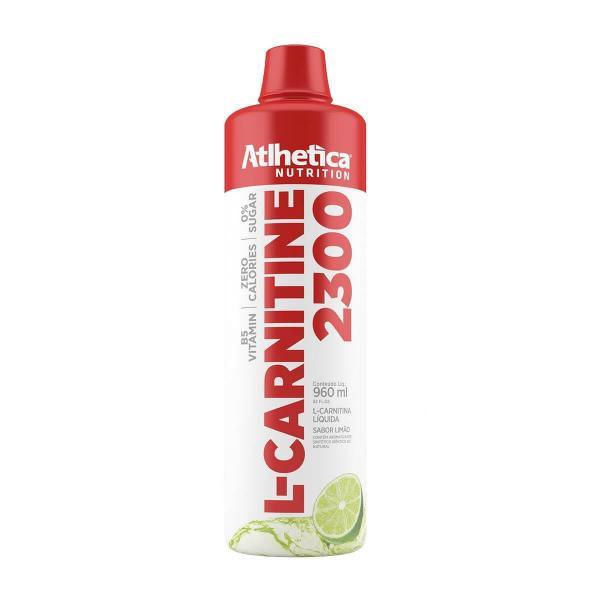L-CARNITINE 2300 (480 Ml) - Limão - Atlhetica Nutrition