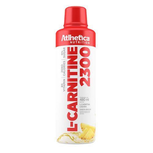 L-carnitine 2300 - 480ml Abacaxi - Atlhetica Nutrition - LI303706-1