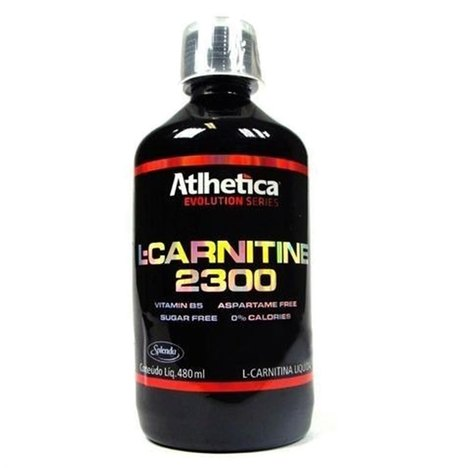L-Carnitine 2300 (480Ml) - Atlhetica - Limao