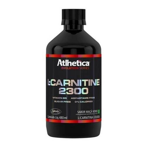 L-CARNITINE 2300 480ML - ATLHETICA NUTRITION - Abacaxi