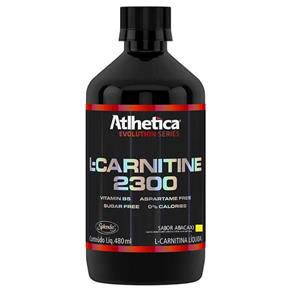 L-Carnitine 2300 - 480ml - Atlhetica Nutrition - ABACAXI