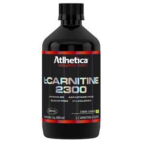 L-Carnitine 2300 - 480ml - Atlhetica Nutrition - LIMÃO