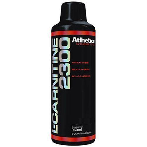 L-Carnitine 2300 - 960ml Abacaxi - Atlhetica - Atlhetica Nutrition