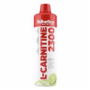 L-Carnitine 2300 960ml Limao Atlhetica - Limão - 900 Ml