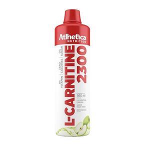 L-Carnitine 2300 960ml MaÇA Verde Atlhetica - Maçã Verde - 900 Ml