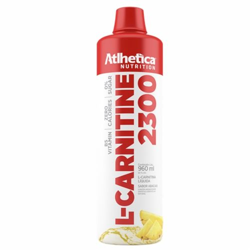 L-carnitine 2300 Abacaxi 480ml Atlhetica