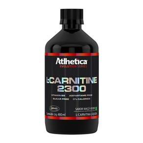 L-Carnitine 2300 - Atlhetica Nutrition - Limão - 480 Ml
