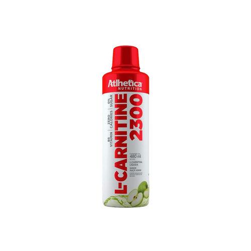 L-carnitine 2300 - Atlhetica Nutrition - Maçã Verde