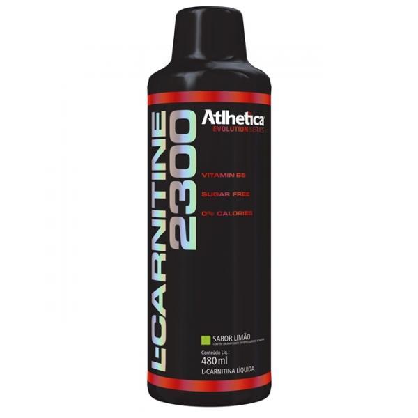 L-carnitine 2300 Limao 480 Ml - Atlhetica Nutrition