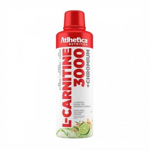 L-Carnitine 3000 (960Ml) - Atlhetica Nutrition Limão