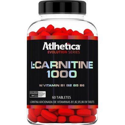 L-Carnitine 1000 60 Tabs- Atlhetica Nutrition