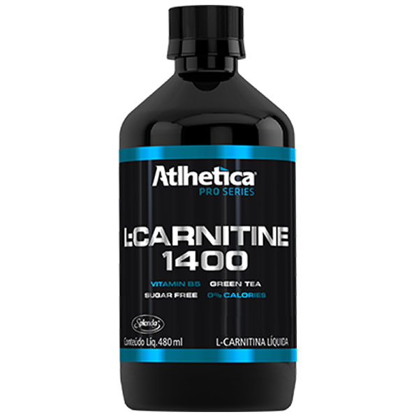 L- Carnitine 1400 480 Ml - Atlhetica - Atlhetica Nutrition