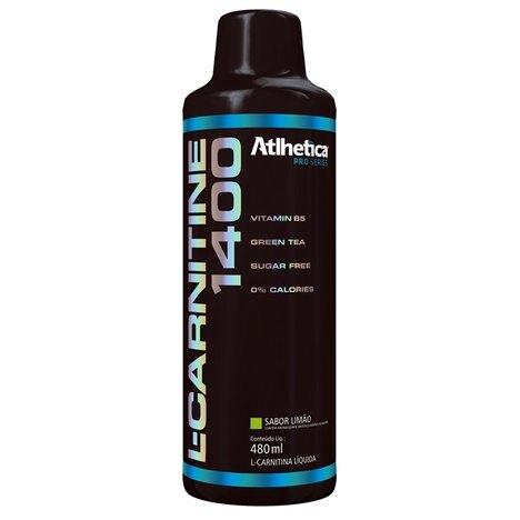 L-Carnitine 1400 (480Ml) - Atlhetica Nutrition - Limão