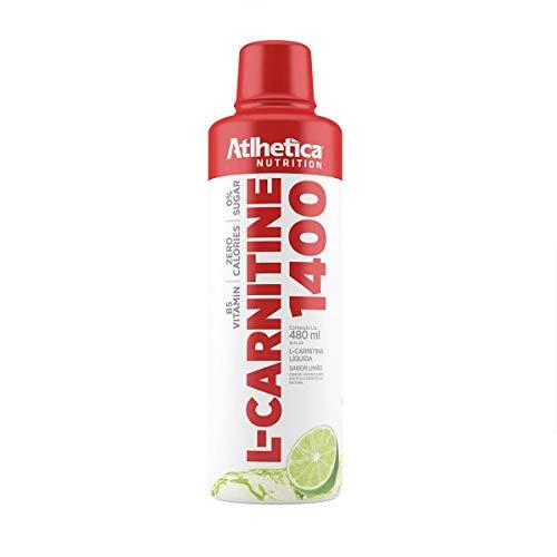 L-Carnitine 1400-480ml Limão, Athletica Nutrition