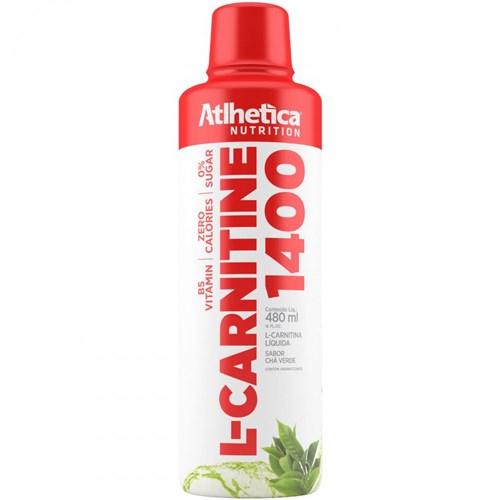 L-Carnitine 1400 Sabor Chá Verde Atlhetica 480Ml