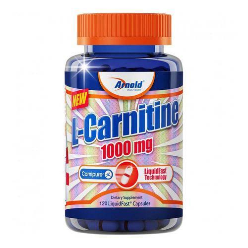 L-Carnitine - Arnold Nutrition - 120 Cápsulas 1000mg