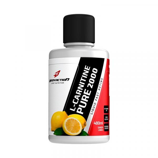L-Carnitine Liquido Limão 480ml BodyAction