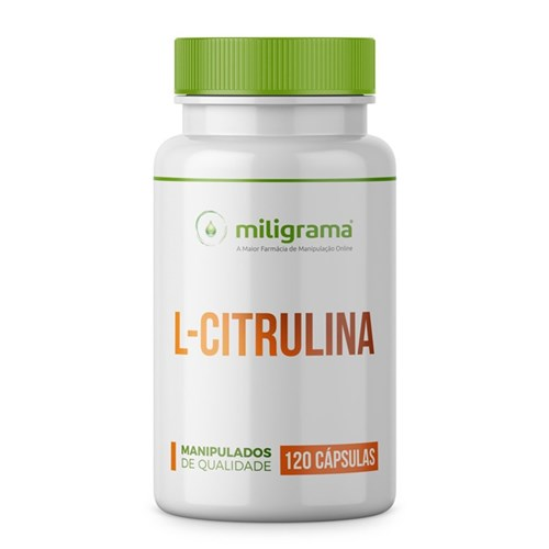 L-Citrulina 500Mg 120 Cápsulas
