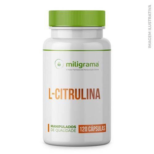L-citrulina Malato 500mg 120 Cápsulas