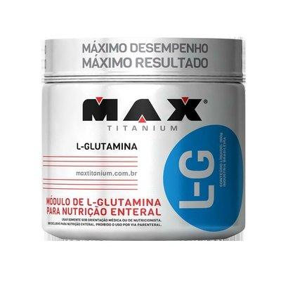 L - G 300G Max Titanium - Glutamina