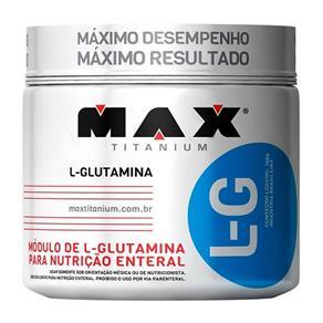 L-G Glutamina 150g Max Titanium - Sem Sabor - 150 G
