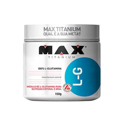 L-G Glutamina 150g Max Titanium