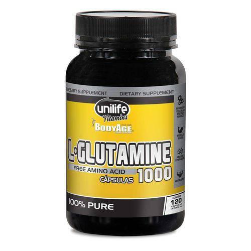 Tudo sobre 'L-Glutamina 120 Cápsulas'