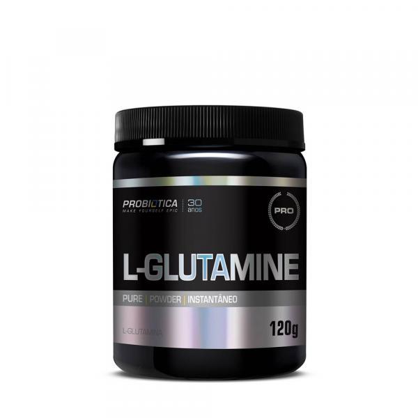 L- Glutamina 120Gr Sem Sabor Probiotica