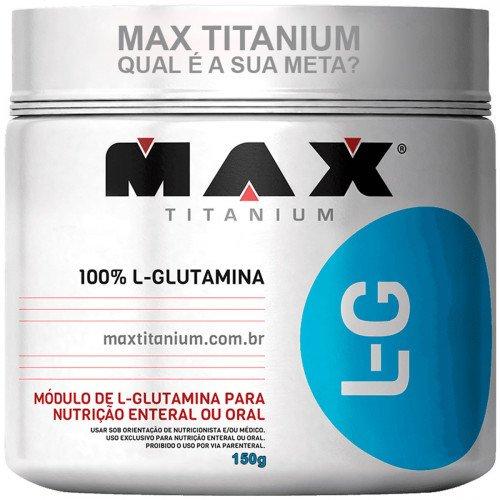 L-Glutamina Max Titanium 150/300G (300g)