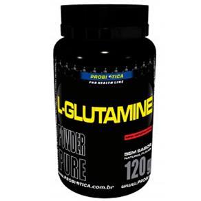 L-Glutamina - Probiótica - 120g - Sem Sabor