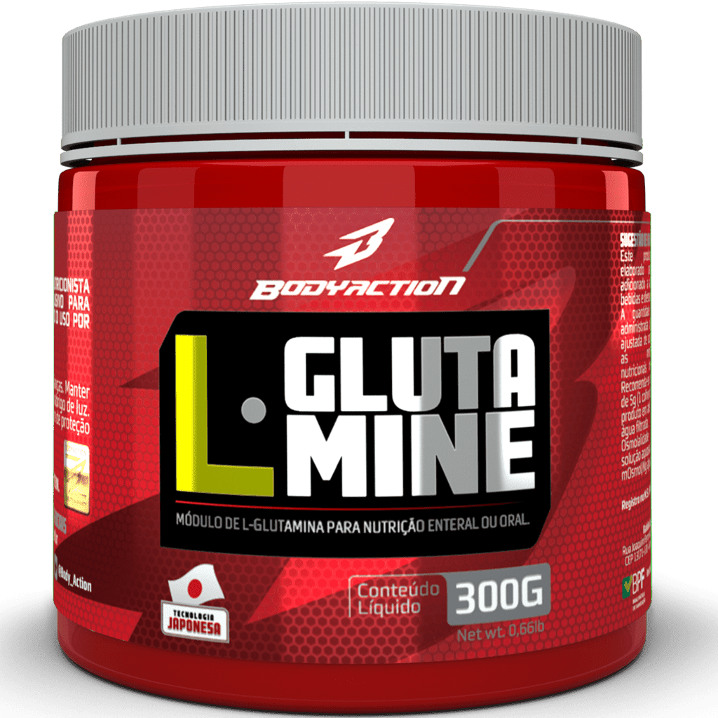 L Glutamine 300G Body Action