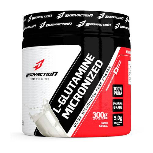 L-Glutamine 300g BODYACTION