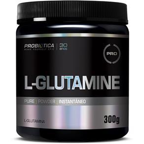 L - Glutamine 300g ProbiÓTica - Sem Sabor - 300 G