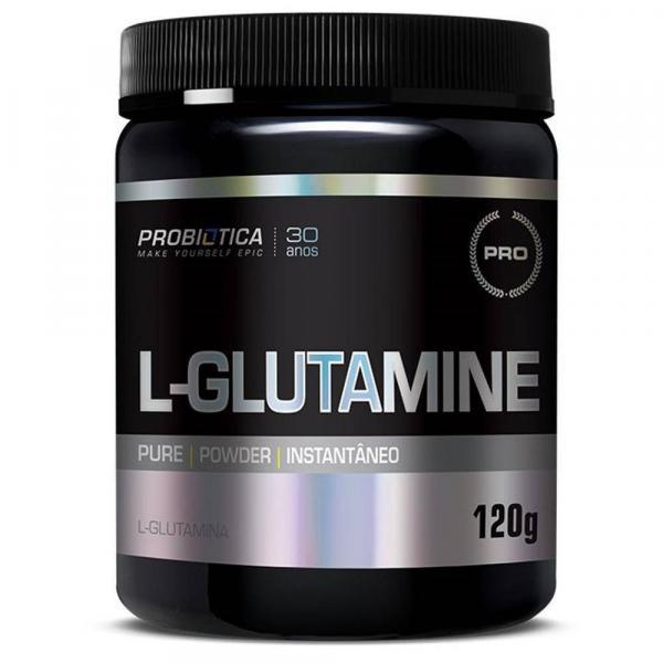 L-glutamine 120 G - Sem Sabor - Probiótica