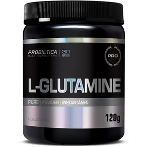 L - Glutamine 120g Probiotica - Sem Sabor - 120 G