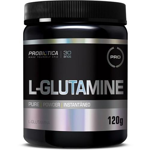L-Glutamine 120G Probiótica - Sem Sabor