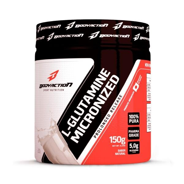 L - Glutamine 150g - Bodyaction