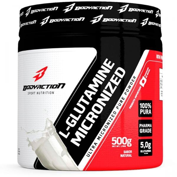L-glutamine - 500g - Body Action